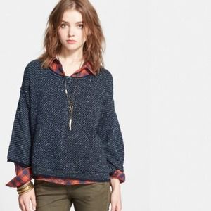 """Free People Sweater Oversized """"Under Your Spell"""""""